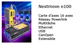 Carte d'axes Nextmove